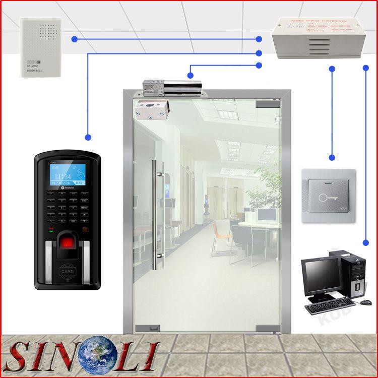 Complete Diy Single Door F201 Biometric Fingerprint Access Control