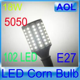 Wholesale Maize Lamp - 18W E27 E14 G24 B22 110V 220V,102 Led 5050 SMD Corn Bulb Light Maize Lamp LED Light Bulb Lamp,1PCS