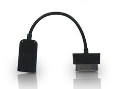 2019 buenas pestañas 500 unids Buena calidad Kit de conexión USB Cable OTG de host para Samsung Galaxy TabS P7510 P7300 P6210 P6200 P3100 P6800 P5110 N8000 buenas pestañas baratos