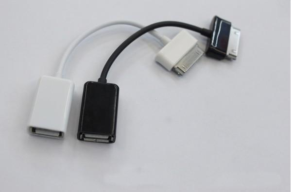 500 pz di buona qualità USB Connection Kit Host OTG cavo Samsung Galaxy Tabs P7510 P7300 P6210 P6200 P3100 P6800 P5100 P5110 N8000