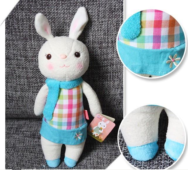 Regalo del día de San Valentín The Tiramisu Rabbit Misoo Microphone Conejo Muñeca de peluche de juguete con caja de regalo