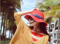 Wholesale Korean Straw Cowboy Hat - I choke a small pepper hat Women's summer Korean version of the hat straw hat sun hat sun hat(20pcs lot)