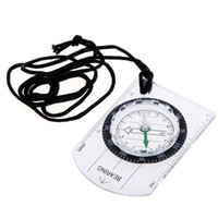 Wholesale Wholesale Scale Rulers - Portable Mini Baseplate Compass + Map Scale Ruler for Outdoor Camping Hiking Cycling Scouts H8739