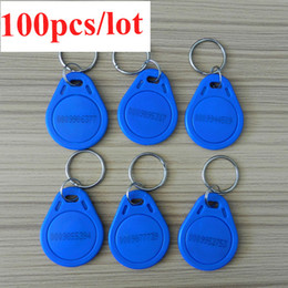 Wholesale Rfid Chips - RFID key tag 125Khz writable EM4305 chip 100pcs lot EM4305 free shipment by air mail S378
