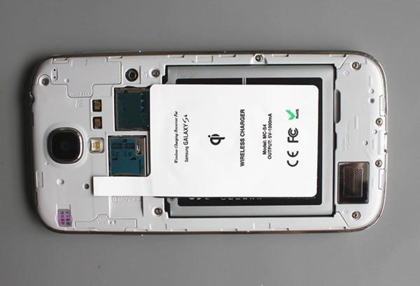 brand new e43f0 b4898 2013 High Quality QI Wireless Charger QI Receiver Charging Receiver  Charging for SAMSUNG i9500 GALAXY S4