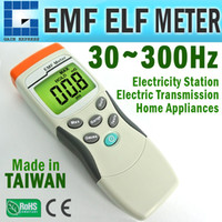 M0198191 Digitale Einzelachsen-Gaussmeter EMF-ELF-Sensor Magnetfeld-Gauss-Messgerät 30 ~ 300Hz MADE in TAIWAN