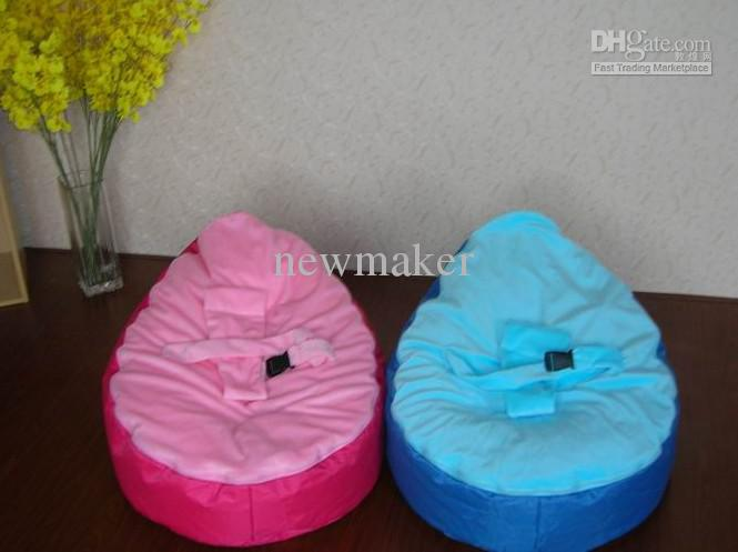 Baby Pouf Bean Bag Without Filling Single Color