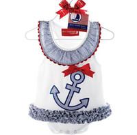 Wholesale Girls Sailor Skirt - New fund, the boat anchor sailor crab cute skirt ha clothes ha skirt bag fart skirt free shipping lovely skirt