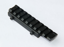 Tactical Dovetail Rail Extension 11 mm a 20 mm Rail Mount Weaver Adapter desde fabricantes