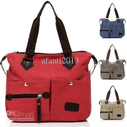 Women's Large Travel Book Bag Handbag Shoulder