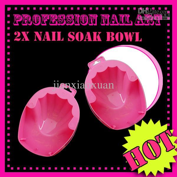 Pink Nail Art Hand Soak Bowl Treatment Manicure Uv Gel Acrylic El049 ...