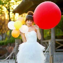 2017 nova Moda 36 Polegada De Látex tamanho grande Balão para Promoção decorar balão de casamento festival de Natal balão 50 pçs / lote de Fornecedores de brinquedos baratos grossistas