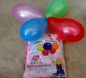 2017 Comemore o exercício de balão decorado Aponta Balão de armas Baixo preço de látex cor livre balões de água de casamento vestido de festa