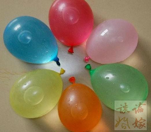 2017 heiße Verkäufe Neue Sommerfeiertagsparty Latex Kostenlose Wasserballone 16-18cm aufgeblasen 1Pack/ 6Pack = /
