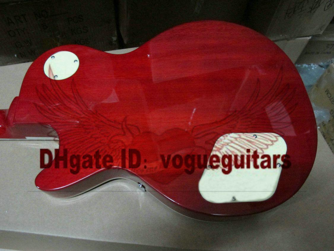 One Piece Neck Vintage Sunburst 1959 VOS Guitarra Elétrica Frete Grátis C91
