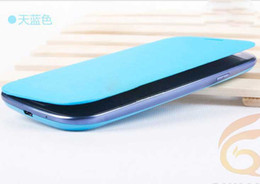 Wholesale S4 Cover New - 2013 new AAA quality Utrathin Leather Case Cover for Samsung s4 SIV i9500 Stand 20pcs