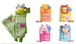 Wholesale Wholesale - free shipping cartoon ToLo children's kid measuring ruler put photo Lovely baby's height ruler