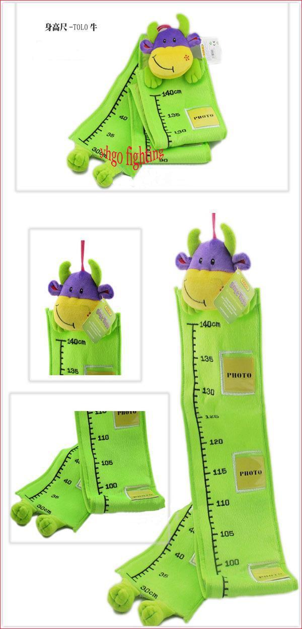Vente en gros - Règle de mesure de l'enfant de dessin animé de l'expédition gratuite ToLo enfants mettre photo règle de hauteur de bébé