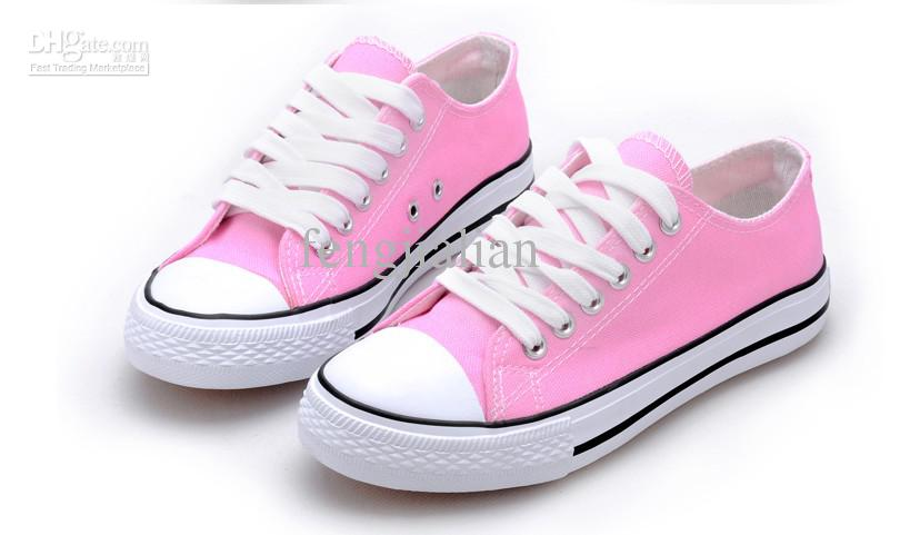 Candy Colored Canvas Shoes Couple Shoes