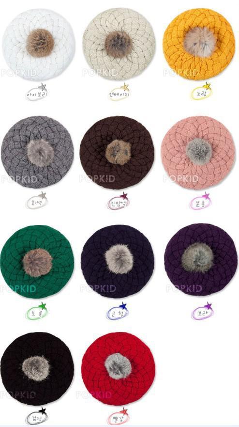 Chapeaux bébé Pom pom tricoté chapeau filles garçons bonnet hiver enfant en bas âge enfants garçon fille faux chaud bonnets tricotés bonnet à tricoter 5 mois-5ans enfants