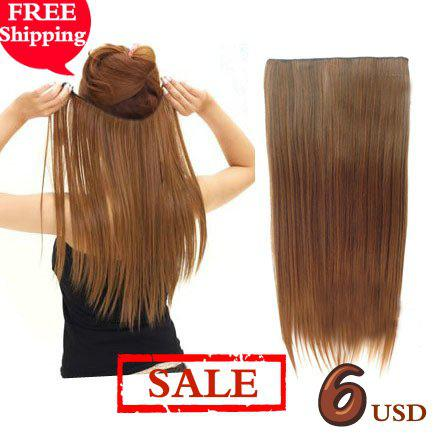 Promotion 5 clip in hair extensionhair pieces one piece for full 5 clip in hair extensionhair pieces one piece for full head avail white hair extension extensions for white hair from bida josh 1287 dhgate pmusecretfo Images