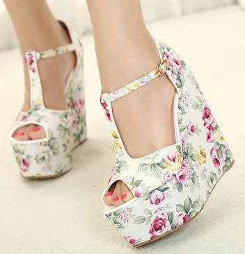 Extra Big Small Size 30 To 43 Sexy Flower Floral T Strappy Sandals ...