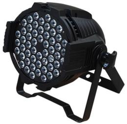 Wholesale 54 Led Par Lights - 4X Lot-Free Shipping CE Approved RGBW 54*3W LED Par Light,Stage Par64 Light