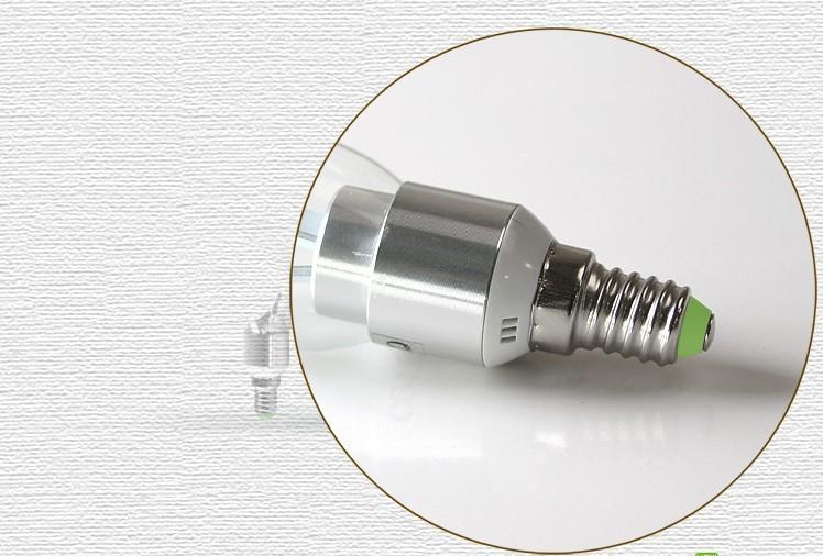 X100 E14 E12 führte Kerzebirne führte Lampen LED-Birnen 6W 6 * 1W 5630 SMD 6 des Leuchts Kronleuchter LED wirkliches reines Weiß der hohen Leistung durch DHL