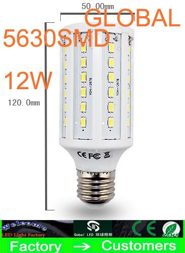 best selling Cheap 5 Piece Led Light Led corn Light 15W E27 Led bulb E14 B22 5630 SMD 60 LED 1800LM Warm cool White Light Bulbs 110V - 130V 220V - 240V