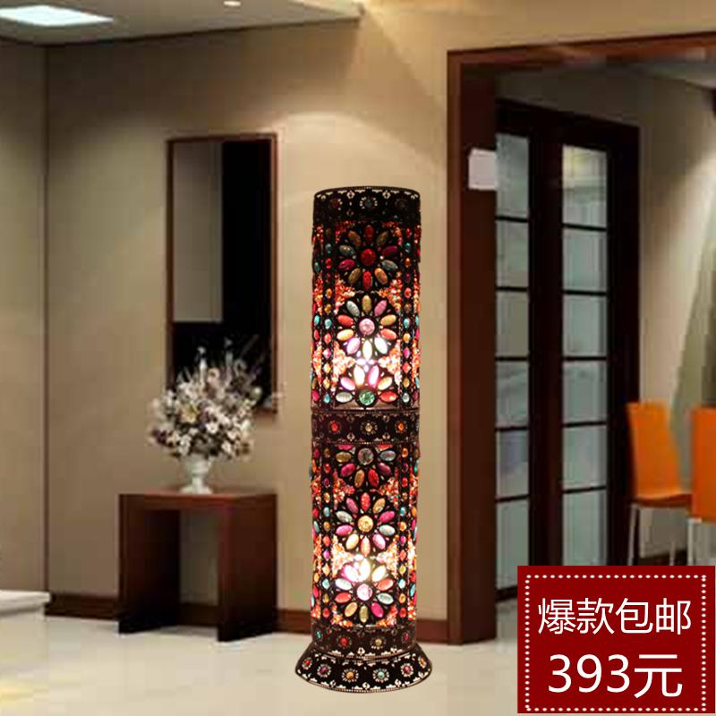 Unique Bedroom Lighting: 2019 Bohemian Style Fashion Floor Lamp Bedroom Lamp Floor