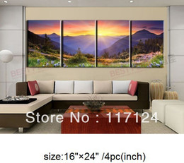 Wholesale Hand Painted Oil Landscape - Free Shipping !! High Quality Guaranteed Wall Art Home Decoration 100% Hand painted Oil painting #404