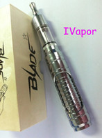 Wholesale Electronic Cobra - NEW PRODUCT 2013 FREE Shipping 2200mAh Blade e cigarette with 3.5ml Cobra atomizer stainless driptip 2 set