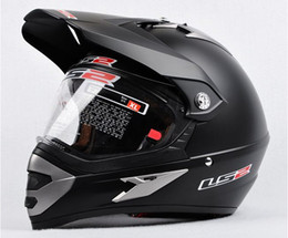 Wholesale Helmet Ls2 Mx433 - ECE DOT LS2 Motorcross Helmets Motorcycle helmets OFF Road Helmet with ABS and matte black color Ls2 MX433 Motorbike Helmet LS2 helmets