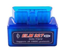 Wholesale Elm 327 Wireless - 50pcs lot 2013 A+++ quality V1.5 Super mini elm 327 Bluetooth OBDii   OBD2 Wireless Mini elm327 Lowest price Free DHL Shipping