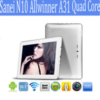 Wholesale Sanei Quad 3g - Sanei N10 Allwinner A31 quad core Ultimate edition 10inch Android Tablet PC Android 4.1 RAM 2GB ROM 16GB 1280X800Px 1pcs