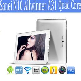Sanei N10 Allwinner A31 quad core Ultimate edition 10 дюймов Android планшетный ПК Android 4.1 RAM 2 ГБ ROM 16 ГБ 1280X800Px 1 шт.