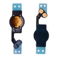 ingrosso bottone mela-Parti sostitutive del cavo flessibile del pulsante Home per Apple iPhone 5G