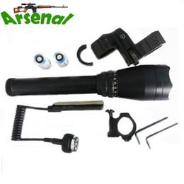 Wholesale Green Designator - Green Laser Designator 50mW Hunting Flashlight With Adjustable Scope Mounts&Battery&Weaver Mount For Night Searching Hunting Spotting ND-50