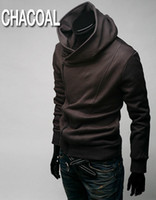 Wholesale Top Anime Cosplay Costumes - Hot 2014 Anime Assassin's Creed III 3 Desmond Miles Hoodie Jacket Top Coat Cosplay Costume