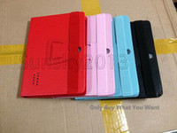 """Wholesale Haipad A13 Black - Fashion New Q88 Case 7 Inch PU Leather Case Protect Skin Cover With Stand for 7"""" Tablet PC Haipad Allwinner A13 Q8 Dual Camera"""