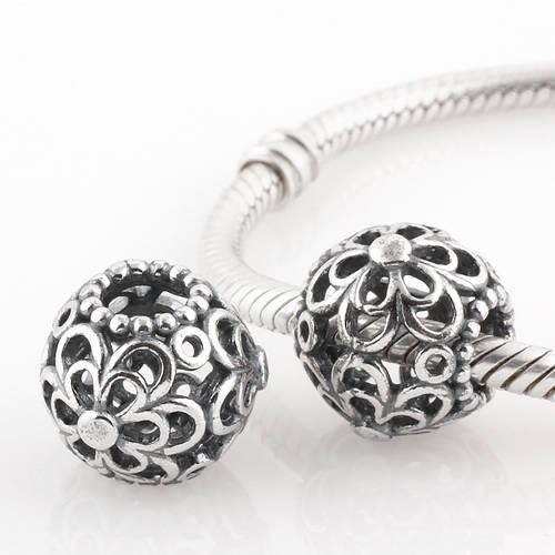 Autêntica prata esterlina 925 Escolher Daises saques encanto único europeu Pandora Bead Pulseiras