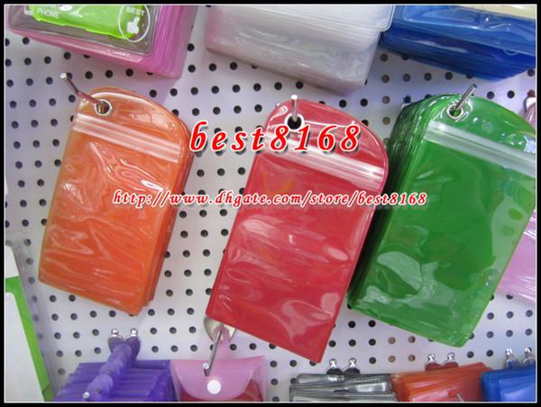 Su geçirmez Fermuar Plastik Perakende çanta Paketi ambalaj için pil USB kablo kılıfı cilt kılıfları yumuşak Asın Temizle Şeffaf Ambalaj