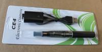 Wholesale E Liquid Cigar - Rechargeable E-Cigarette E-Cigar Health Keeping Set.CE4 Clearomizer 1.6ml of e- liquid 650mah 20pcs lot