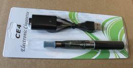 Wholesale E Liquid Charger - Rechargeable E-Cigarette E-Cigar Health Keeping Set.CE4 Clearomizer 1.6ml of e- liquid 650mah 20pcs lot