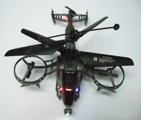 Wholesale Gunship Helicopter - 4CH AVATAR JH GunShip J6683 4-CHANNELS I R rc gyro Helicopter freeshipping toys can Switchable contr