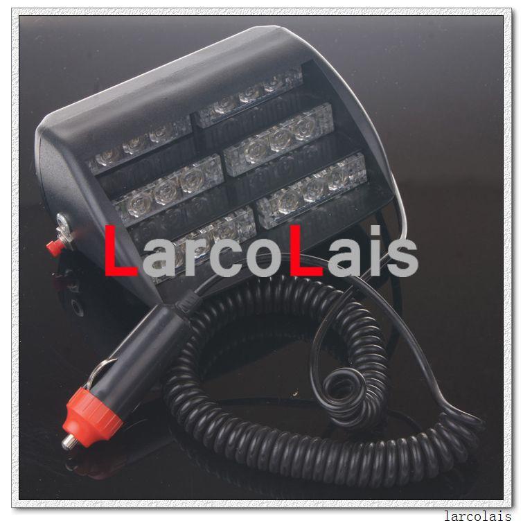 Bernstein 18 LED Strobe Flash Warning EMS Auto-LKW-Licht-blinkender Feuerwehrmann-Nebel 18LED