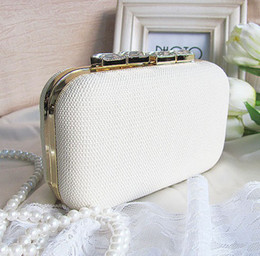 Wholesale Dimond Bags - Fashion women Evening Bag crystal dimond Clutch party bag with shoulder chain Free Shipping J04