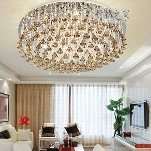 2017 Lighting Luxury Living Room Lights Crystal Lamp Ceiling