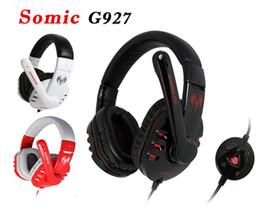 auriculares somic Rebajas Somic G927 7.1 Efecto de sonido Gaming Headset Auriculares estéreo Potente bajo auricular con MIC Envío gratis