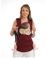 Wholesale Sling Harness - free shipping Front & Back Baby Carrier Infant Comfort Backpack Sling Wrap Harness